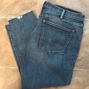 Silver Jeans Suki Ankle Jeans 36